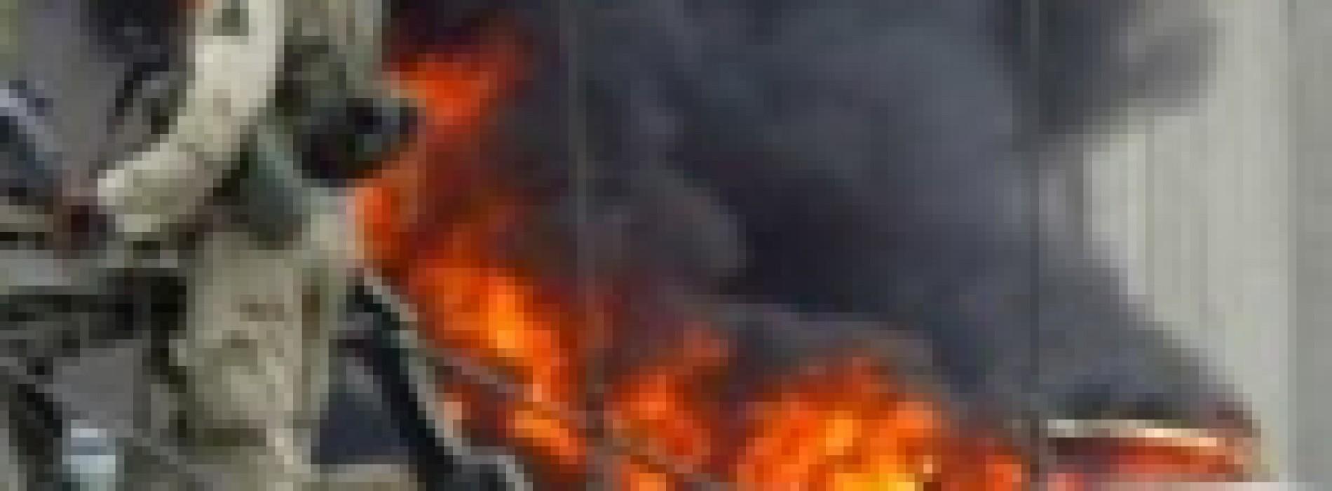As Baghdad Burns