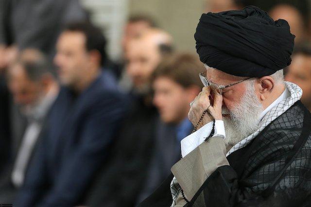 Photo of Ayatollah Sayyid Ali Khamenei